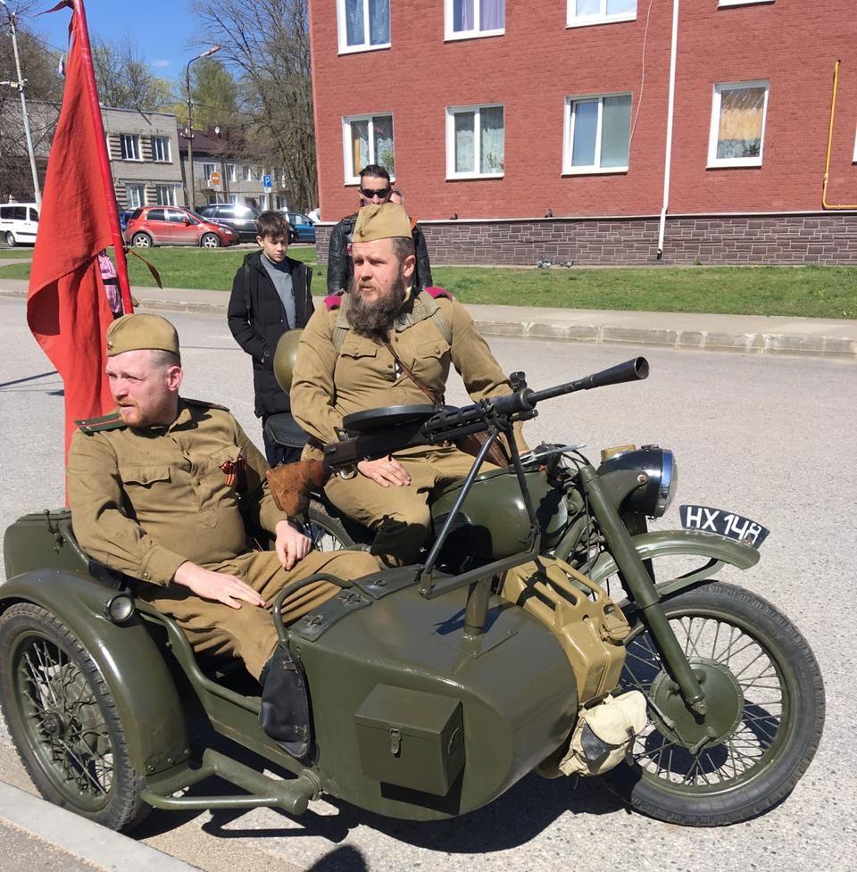 Бессмертный полк в Невской Дубровке