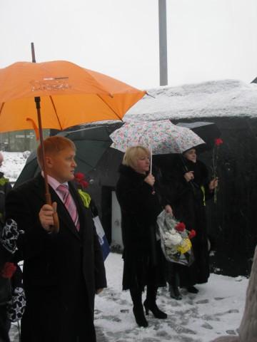 Акция посвящена 65-летию снятия блокады с г.Ленинграда